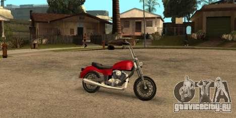 Deamon SA Style для GTA San Andreas вид сзади слева