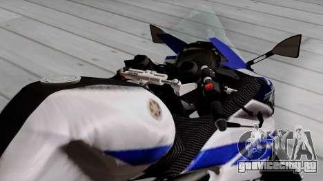 Yamaha YZF R-25 GP Edition 2014 для GTA San Andreas вид сзади