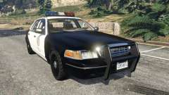 Ford Crown Victoria 1999 Police v1.0 для GTA 5