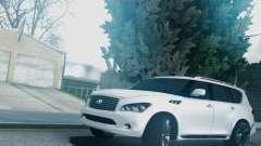 Infiniti QX56 Final для GTA San Andreas