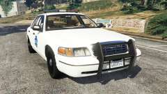 Ford Crown Victoria 1999 Police v0.9 для GTA 5