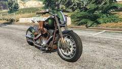 Harley-Davidson Fat Boy Lo Racing Bobber v1.1 для GTA 5