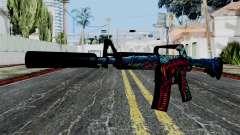 M4A1-S Hyper Beast для GTA San Andreas