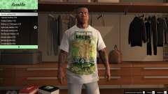 Franklin Hip Hop Футболки для GTA 5
