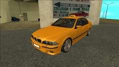 1999 BMW 530d E39 Taxi для GTA San Andreas