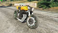 Honda CB 1800 Cafe Racer Paint для GTA 5