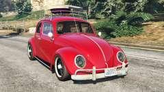 Volkswagen Beetle 1963 [Beta] для GTA 5