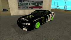 Nissan 200SX Drift Monster Energy Falken для GTA San Andreas