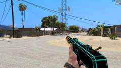 Saints Row 3 Cyber SMG Emissive v1.01