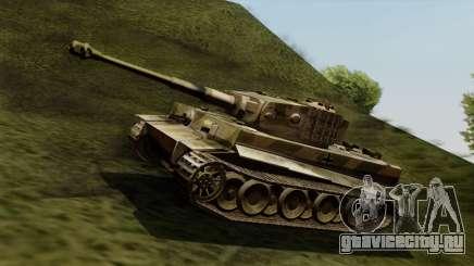 Panzerkampfwagen VI Ausf. E Tiger для GTA San Andreas