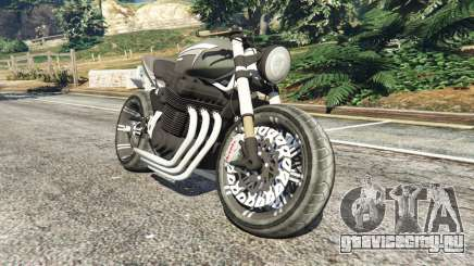 Honda CB 1800 Cafe Racer with Stickers для GTA 5