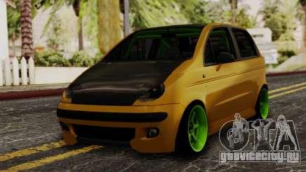 Daewoo Matiz Tuning для GTA San Andreas