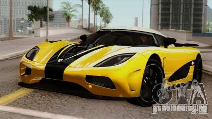 Koenigsegg Agera R 2014 для GTA San Andreas