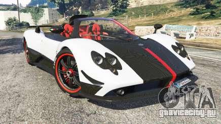 Pagani Zonda Cinque Roadster для GTA 5
