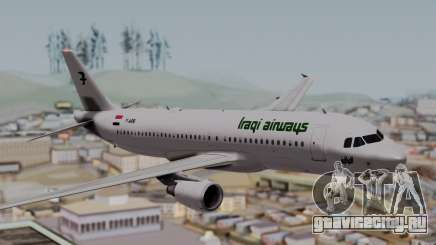 Airbus A320-200 Iraqi Airways для GTA San Andreas