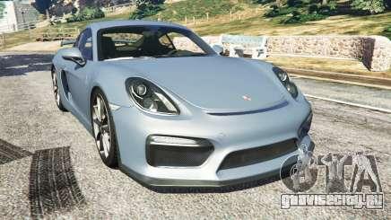 Porsche Cayman 2016 для GTA 5
