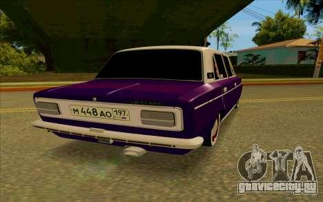 ВАЗ 2103 Баклажан для GTA San Andreas вид сзади слева