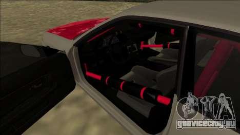 Nissan Skyline R32 Drift для GTA San Andreas вид сбоку