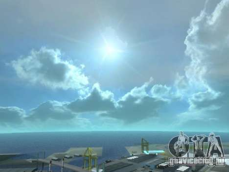 Реалистичный Skybox HD 2015 для GTA San Andreas третий скриншот