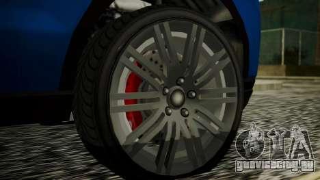 GTA 5 Obey Rocoto IVF для GTA San Andreas вид сзади слева