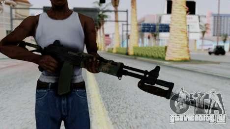 AK-47 from RE6 для GTA San Andreas третий скриншот
