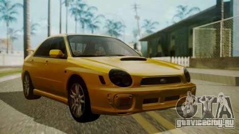 Subaru Impreza WRX GDA для GTA San Andreas