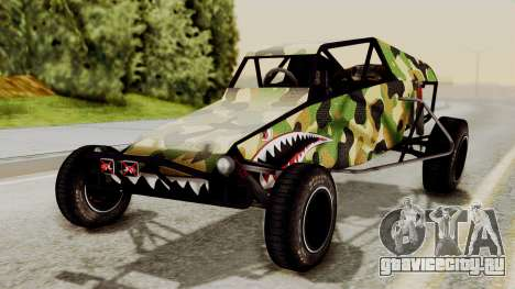 Buggy Camo Shark Mouth для GTA San Andreas