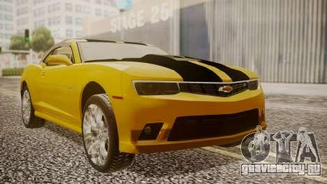 Chevrolet Camaro SS 2015 для GTA San Andreas