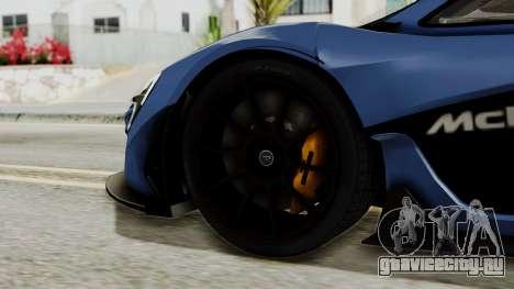 McLaren P1 GTR v1.0 для GTA San Andreas вид сзади слева