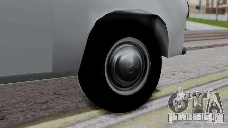 Syrena R20 v1.0 для GTA San Andreas вид сзади слева