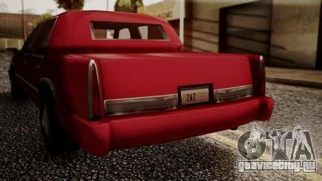 Stretch Sedan для GTA San Andreas вид сзади слева