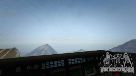 S.H.I.E.L.D. Helicarrier для GTA 5 седьмой скриншот