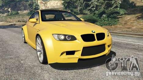 BMW M3 (E92) WideBody v1.1 для GTA 5