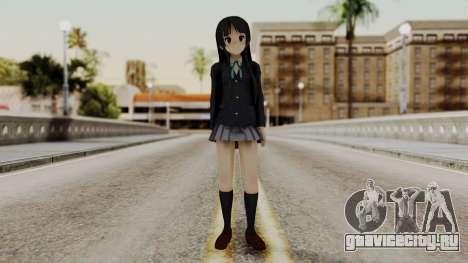 K - ON Remake Mio Akiyama для GTA San Andreas второй скриншот