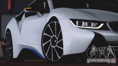 BMW i8 Coupe 2015 для GTA San Andreas вид сверху