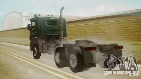 Scania P420 для GTA San Andreas вид слева