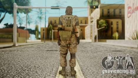 Venom Snake Wetwork для GTA San Andreas третий скриншот