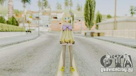Project Diva F 2nd - Kagamine Rin Cheerful Candy для GTA San Andreas второй скриншот