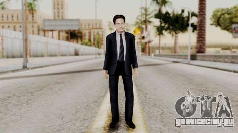 Agent Mulder (X-Files) для GTA San Andreas второй скриншот