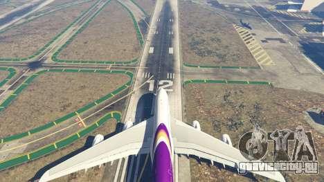 Airbus A380-800 v1.1 для GTA 5 восьмой скриншот