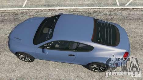 Bentley Continental Supersports [Beta2] для GTA 5 вид сзади