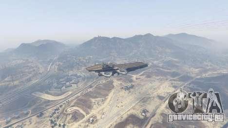 S.H.I.E.L.D. Helicarrier для GTA 5 третий скриншот