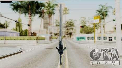 Katana from RE6 для GTA San Andreas второй скриншот