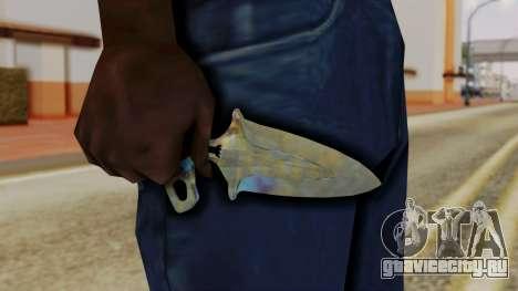Shadow Dagger Поверхностная закалка для GTA San Andreas третий скриншот