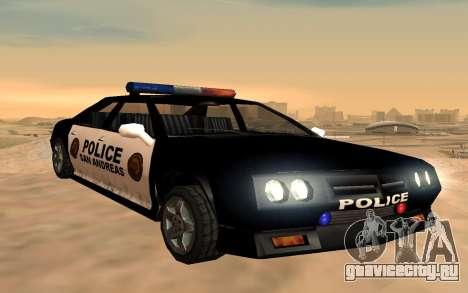 Полицейский четырёхдверный Buffalo для GTA San Andreas
