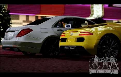 Adder from GTA 5 для GTA San Andreas вид изнутри