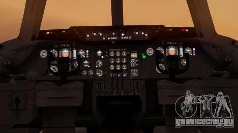 DC-10-10 Western Airlines для GTA San Andreas вид сзади