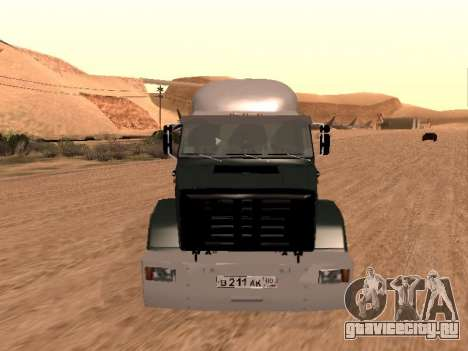 ЗиЛ-133 05А для GTA San Andreas вид изнутри