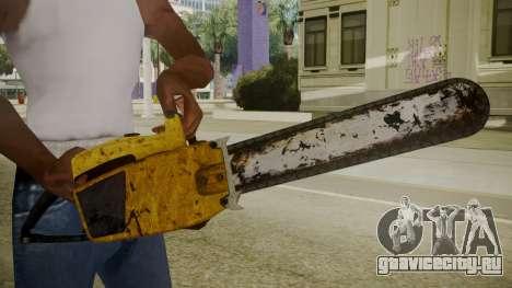 Atmosphere Chainsaw v4.3 для GTA San Andreas третий скриншот