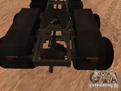 ЗиЛ-133 05А для GTA San Andreas вид сзади
